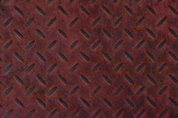 Heavy Iron Diamond Plate Abstract Texture Background