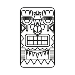 Mayan warrior designed