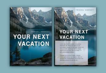 Travel Brochure Layout 1