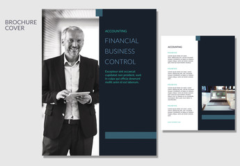 Business Brochure with Sidebar Photo Element 2