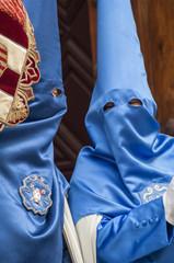 "Penitents of the brotherhood of ""La Hiniesta"""