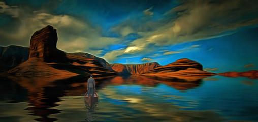 Travel to mystic shores
