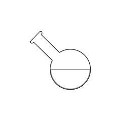 medical test-tube icon. Medecine Element for mobile concept and web apps. Thin line  icon for website design and development, app development. Premium icon