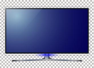 TV - smart TV. 4k Ultra HD screen, led 4k tv isolated white background