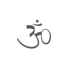 sign of Hinduism icon. Elements of religious signs icon for concept and web apps. Illustration  icon for website design and development, app development. Premium icon