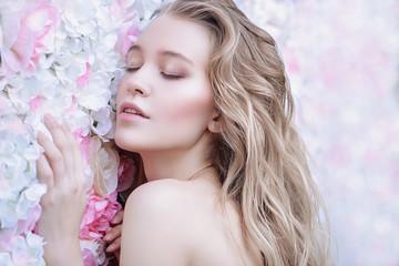 tenderness of spring flowers