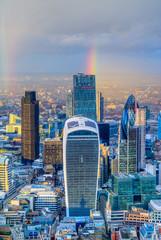 City of London financial district, London, UK