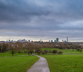 Morning at Primrose hill, London