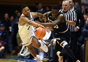 NCAA Basketball: Notre Dame at Duke