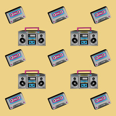 90s background icons icon vector illustration graphic