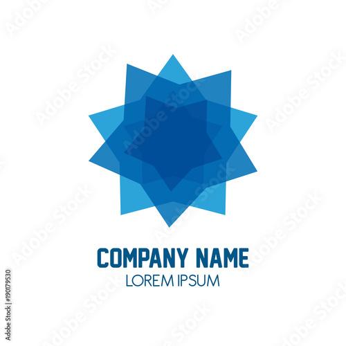 Company Name Symbol Icon Vector Illustration Graphic Stock Image