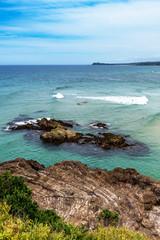 Rocky Coastal Seascape