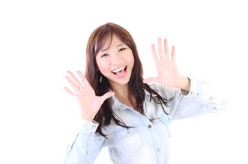 Asian beautiful young woman