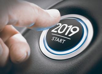 2019 Start, Two Thousand Nineteen.