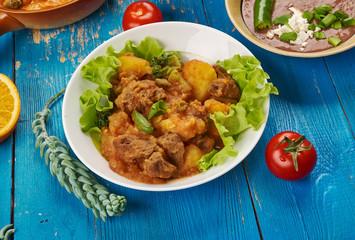 Somali  Lamb and Potato Sugo
