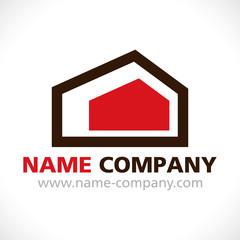 logo construction maison agence gestion combles aménagement