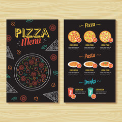 Pizza Menu Template