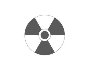 radiation, nuclear, danger, warning icon