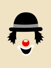 Clown Face Symbol