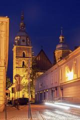 Obraz St. Margaret Church in Nowy Sacz - fototapety do salonu