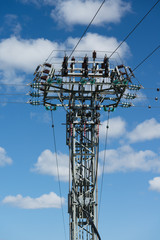 Power distributor mast - 9570