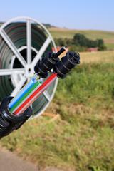Symbolfoto zum Thema Breitbandausbau mit Breitbandkabel