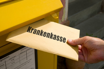 Brief an die Krankenkasse
