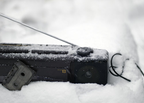 Stereo Center In Snow