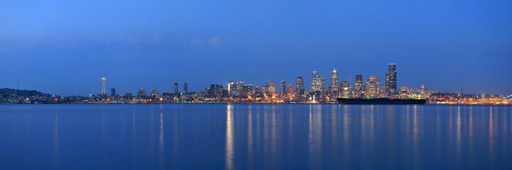 Fototapete - Seattle skyline
