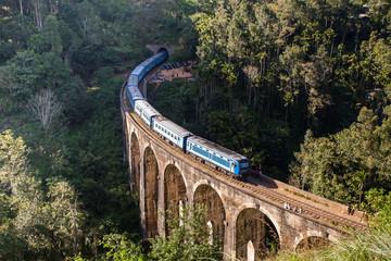 The Nine Arches Bridge Demodara is one of the iconic bridges in Sri Lanka.