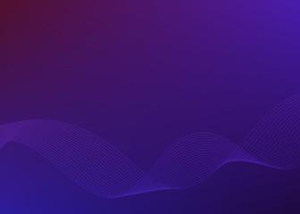 Gradient background Design element Wave many parallel lines05