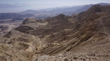 Arava Valley. Israel. Timna Park. Desert. Dolina Arava