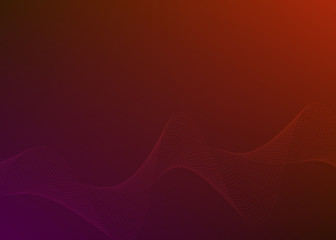 Gradient background Design element Wave many parallel lines07