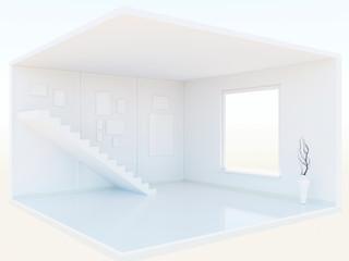 Interior model 3d
