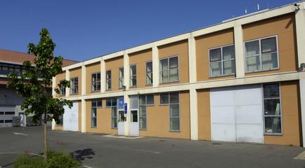Les Mureaux; France - may 5 2009 : business incubator