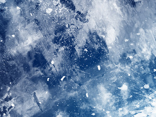 Abstract blue watercolor background for graphic design