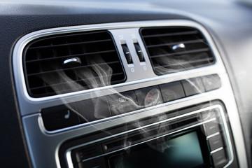 Fotoväggar - Air vents in a car