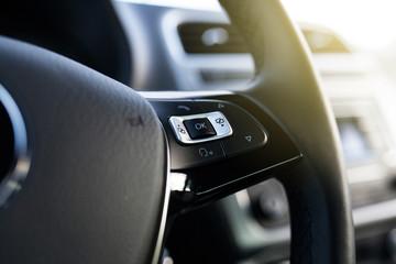 Fotoväggar - Steering wheel of a modern car