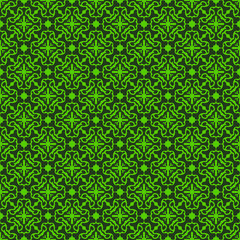 Seamless vintage pattern. Background with beautiful elements.
