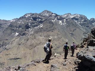 Toubkal in the High Atlas, Morocco