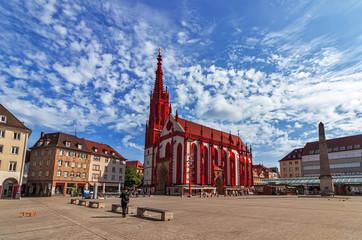 Marienkapelle (Mary's Chapel) in Wurzburg - Germany
