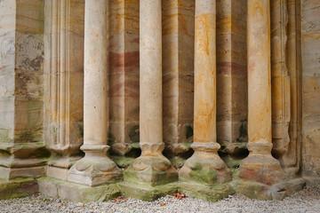 Preiler of a church gate