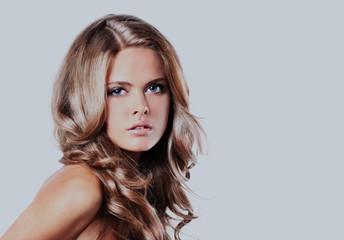 Fototapeta Portrait of beautiful woman