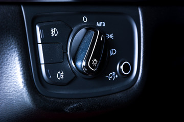 Car fog lights switch