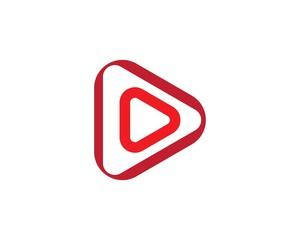 play logo vector ilustration