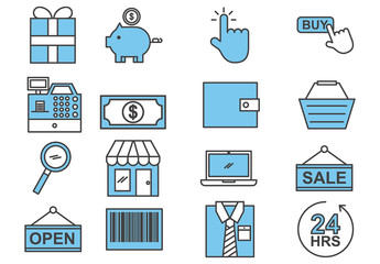 E-Commerce Icon Set 1
