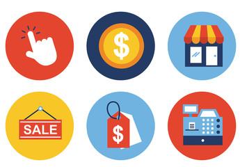 E-Commerce Icon Set 4