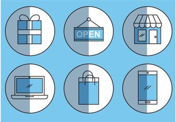 E-Commerce Icon Set 7