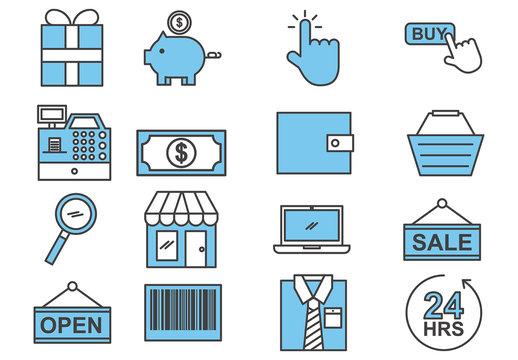 E-Commerce Icon Set 1