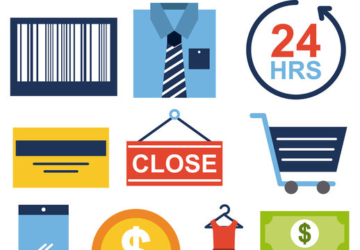 E-Commerce Icon Set 2